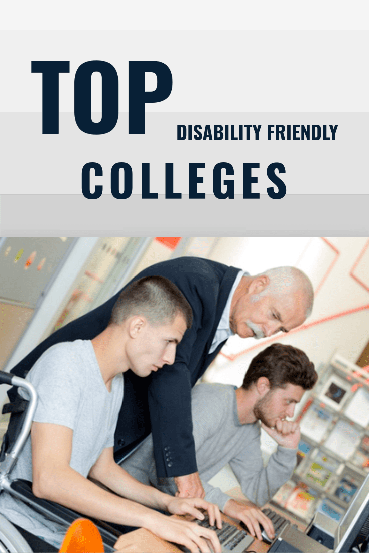 colleges that are disabled friendly
